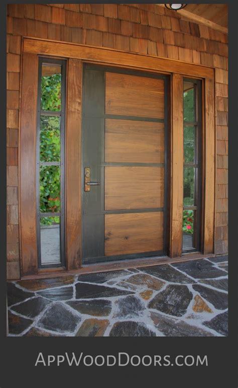 custom wood doors entry exterior appwood doors