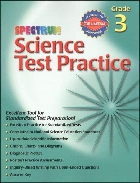 Spectrum Science Test Practice Grade 3 038023 Details