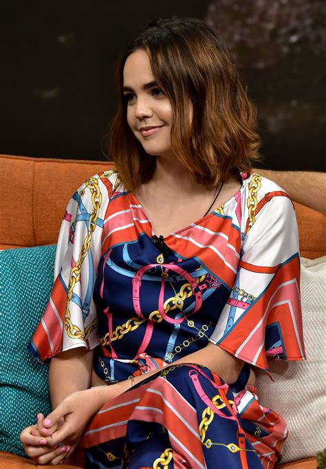 bailee madison tv bailee madison quot despierta america quot tv show interview in