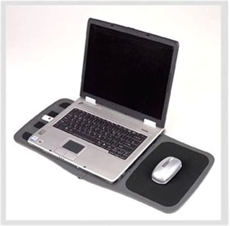 Laptop Desk With Mouse Pad by Currently Unavailable We