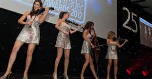 Christmas Party Entertainment Ideas - electric strings quartet for hire from london