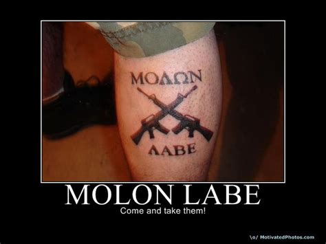 spartan molon labe tattoo pictures to pin on pinterest