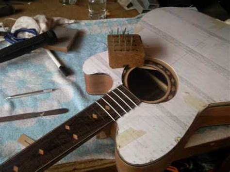 video guitar how to build an acoustic guitar youtube