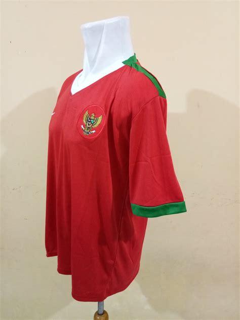 jual jersey timnas indonesia home lambang burung garuda