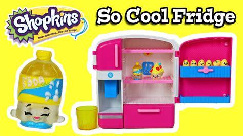 Shopkins Cool shopkins so cool fridge playset