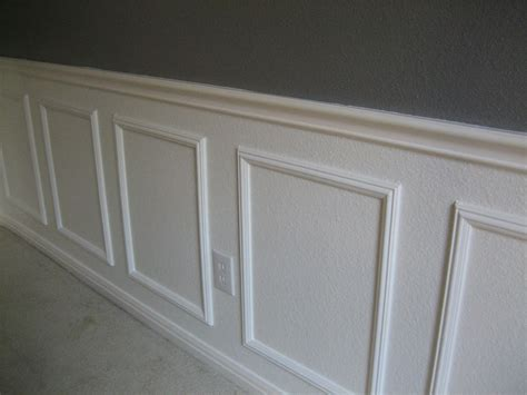 Glue Wainscoting To Wall Why Didn T I Think Of That Easy Wainscotting Idea Buy