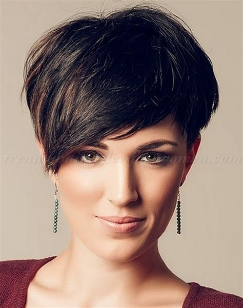 asymmetrical haircuts for women over 40 with fine har short hairstyles with long bangs short asymmetrical