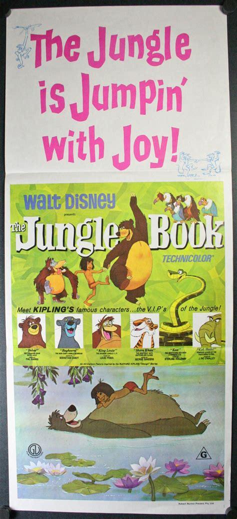 walt disneys the jungle 0394825608 jungle book original walt disney movie poster