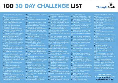 Digital Detox Journal Prompts 30 Days by Best 25 30 Day Challenge List Ideas On