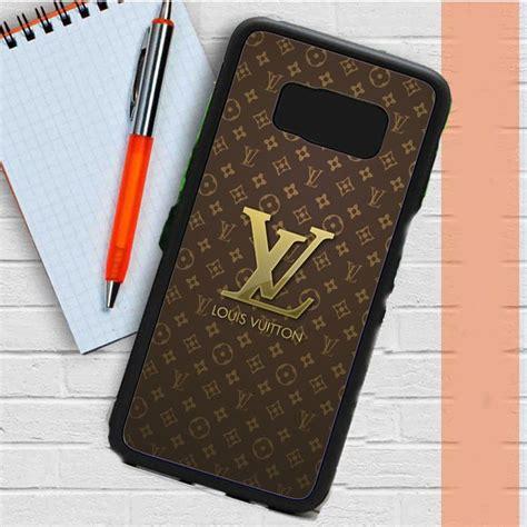 louis vuitton designer label logos patterns samsung galaxy   case dewantary ride