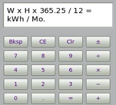downlodable freeware convert watts to kwh calculator