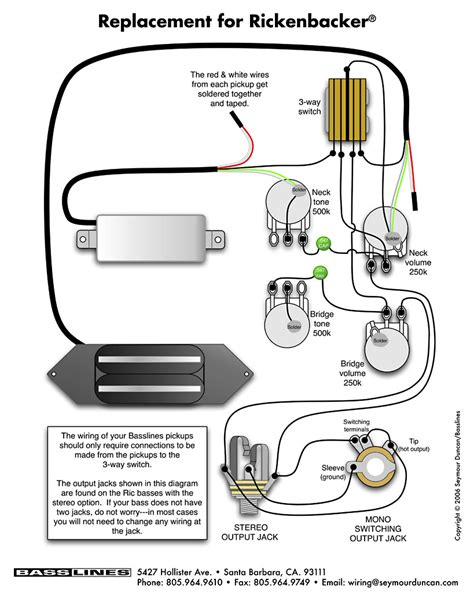 rickenbacker 4003 bass wiring diagram 28 images