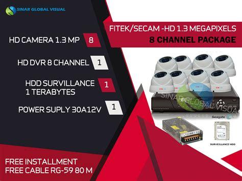 Paket Kamera Cctv Dahua 8 Unit Area Outdoor Surabaya paket harga cctv 8 kamera 1 dvr dan melayani area