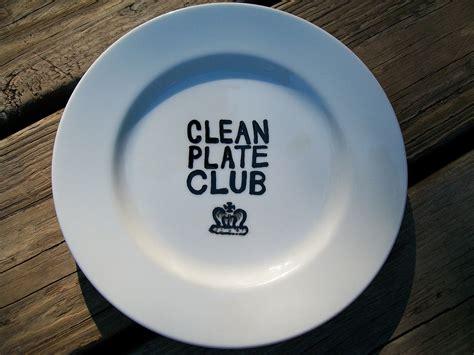 Plate Cleaner clean plate club deborah enos