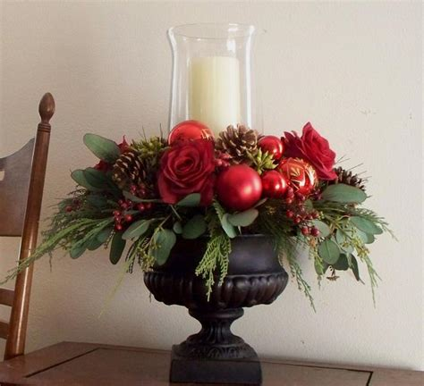 homemade christmas decorations and christmas centerpieces