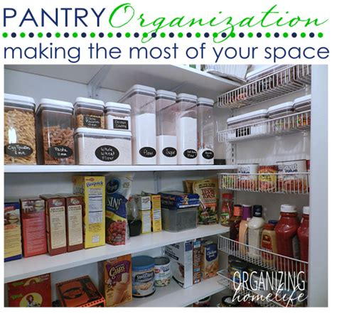 Food Pantry Meaning by The Most Of Your Pantry Organize Your Kitchen Frugally Day 28 Organizing Homelife