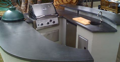Cheng Design Concrete Countertops by Creating An Inexpensive Outdoor Kitchen With Concrete