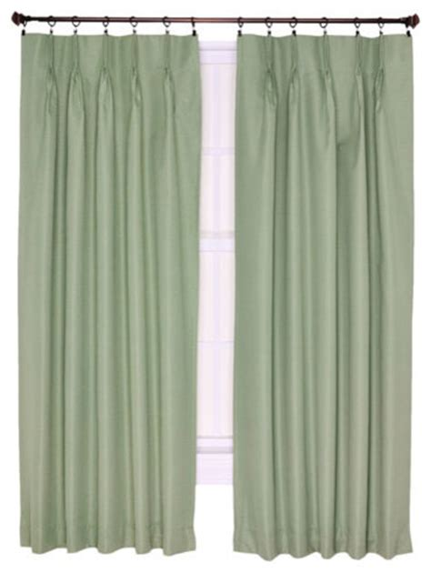 thermal curtains 96 inch long crosby sage thermal insulated 96 by 84 inch pinch pleated