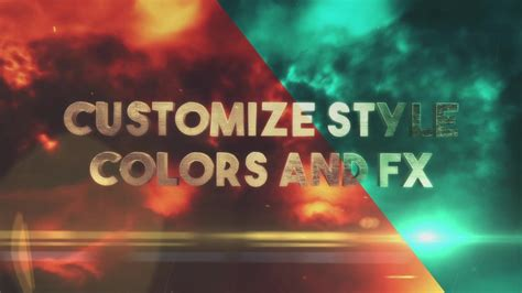 after effects trailer templates tempest trailer title pack after effects template