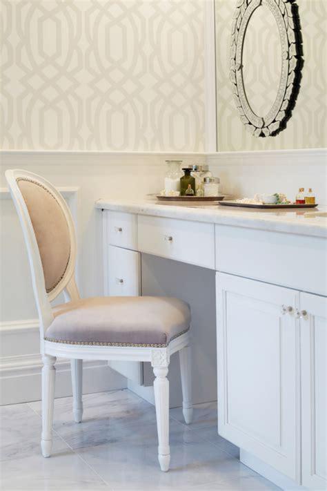 bathroom makeup chair photos hgtv