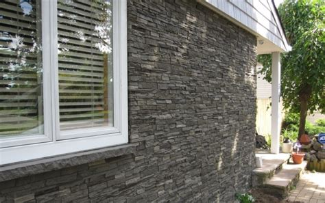 how to install stone siding on a house faux stone siding for a beautiful facade