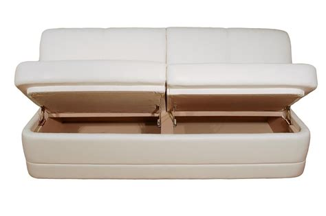 marine sofa comp3 i straight custom sofa 61 82l w storage glastop inc