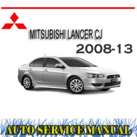 service manual how to download repair manuals 2008 kia spectra lane departure warning 2006 mitsubishi lancer cj 2008 2013 workshop service manual download m