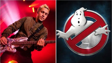 theme song ghostbusters fall out boy are copping a lot of hate for their