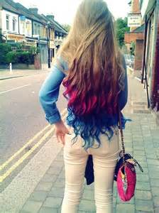 how to wash colored hair temporary dip dye hair the diaries