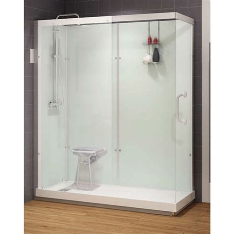Walk In Showers At Lowes by Lowes Shower Inserts Shower Stalls Tile Lavish Home