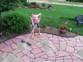 how to build a flagstone patio flagstone patio home exterior design ideas