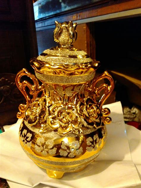 Pajangan Dewa Dewi jual pajangan guci keramik tanggung dhammamanggala