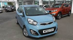 Kia Motors Bristol Used Car Kia Picanto 2 Auto Blue Wp62fxv