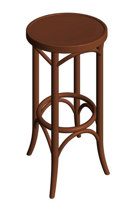 thonet bentwood bar stools revitcity com object bentwood backless thonet bar stool