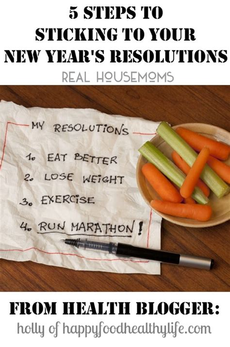 new year steps 5 steps to sticking to your new year s resolution real