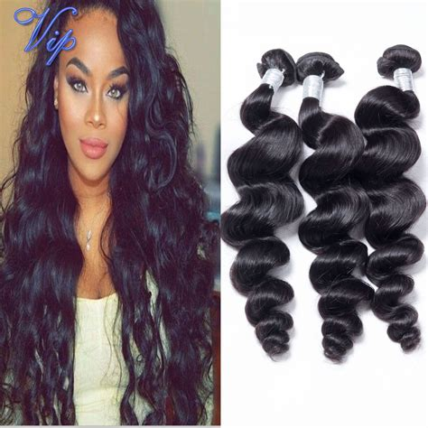 loose wave braiding hair 6a loose wave brazilian human hair weave bundle 3pcs 10