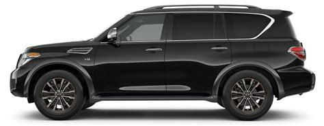 2017 nissan armada black 2017 nissan armada exterior color options