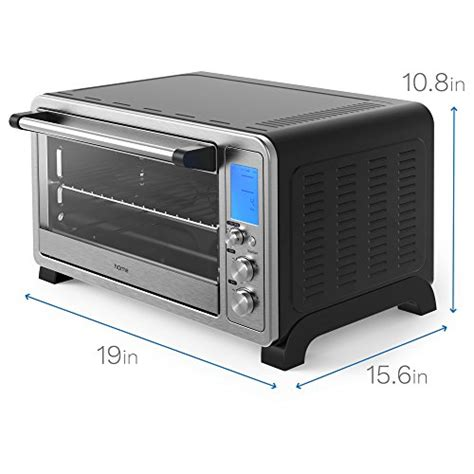 Toaster Oven Functions Homelabs 6 Slice Convection Oven Stainless Steel