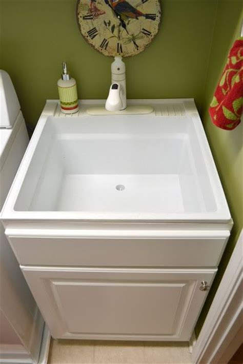 Purple Kitchen Decorating Ideas Laundry Room Utility Sink With Cabinet Inseltage Info