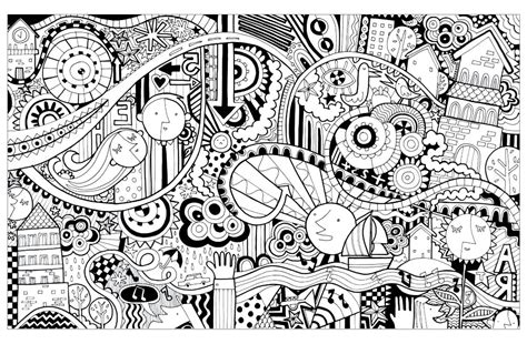 doodle city doodle city doodling doodle coloring pages