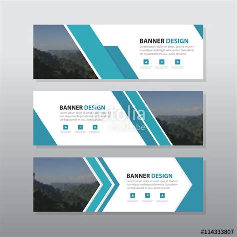 layout design for banner quot blue abstract corporate business banner template