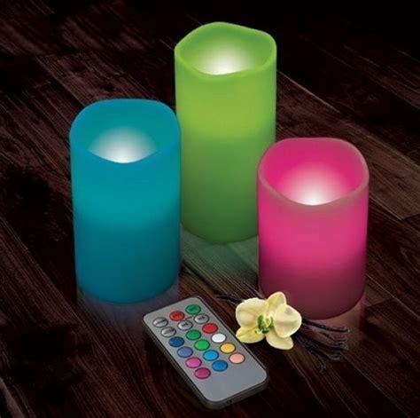 creare candele colorate magiche candele led con telecomando dxa 24