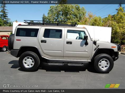 how make cars 2004 hummer h2 electronic valve timing pewter metallic 2004 hummer h2 suv wheat interior gtcarlot com vehicle archive 32098957