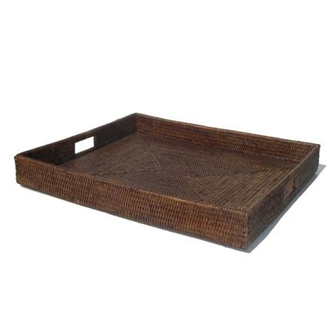 large coffee table tray large rattan tray for coffee table tr living room