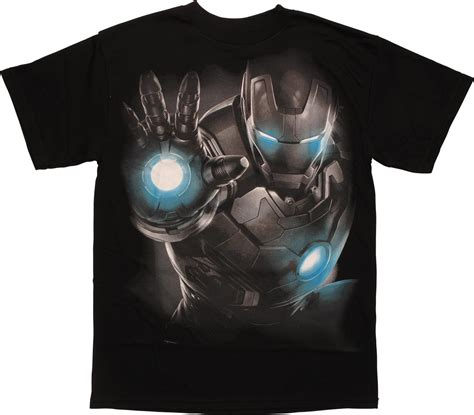 Gw175d Ironman Glow In The iron age of ultron glow darkness t shirt