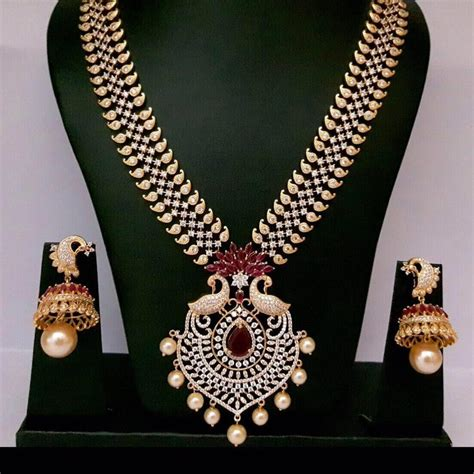 design is one online one gram gold jewellery designs fashionworldhub