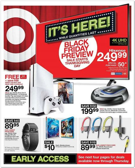 Target Door Busters by Target Black Friday 2017 Ads Deals And Sales