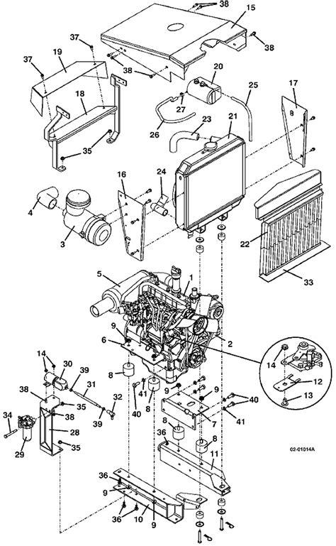 engine assembly  grasshopper parts diagrams  mower shop