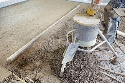 Unterschied Beton Und Estrich by Zementestrich Richtig Verlegen 187 Www Selber Bauen De