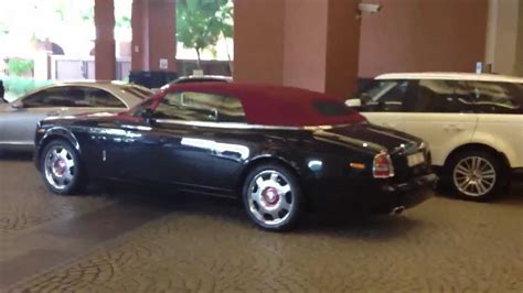 rolls royce roof black rolls royce phantom drophead with roof